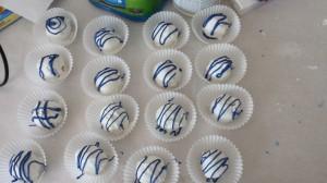 Cake Ball Blue